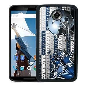 High Quality Dallas Cowboys 3 Black Google Nexus 6 Screen Phone Case Beautiful and Luxury Design