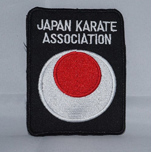 JKA Martial Arts Patch Japanese Karate Association (Japanese Martial Arts Patches)