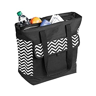 OAGear - Double Compartment Cooler Tote - Chevron Pattern