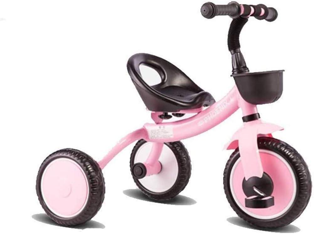 Daxiong Triciclo para niños, Ligero 2-5 años Cochecito de Coches de Juguete Antiguo de los niños del bebé de la Bicicleta