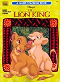 Lion King Giant Color and Activity Book 1
