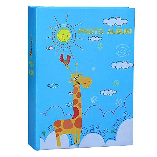 aoory 6x4 Cute Animal Photo Album Capacity: 100pcs Sunny Giraffe