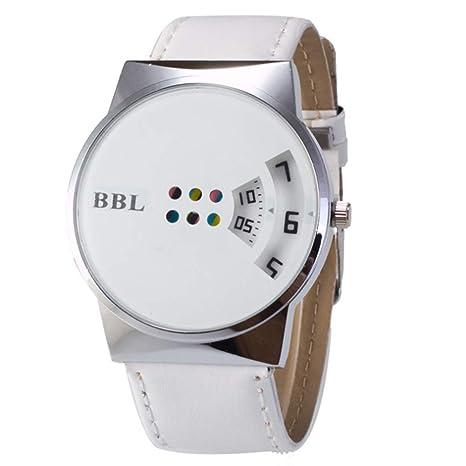 naisidier Reloj Creativa Reloj a la Mode cinturón Tocadiscos ...