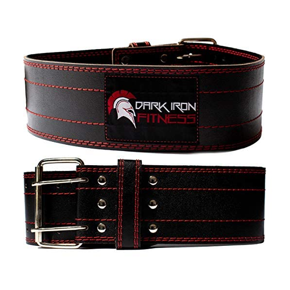 Real Leather Weight Lifting Fitness Gym Belts Back Support Mens Training Belts