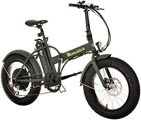 Marnaula-Tucano Monster 20 Bicicleta Electrica, Adultos Unisex, 19