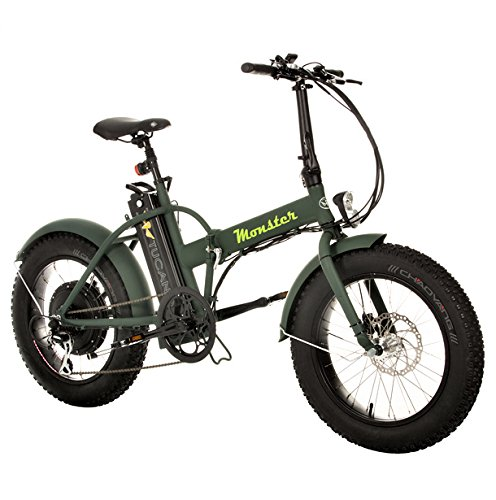 MONSTER 20 - The Folding Electric Bike - Wheel 20