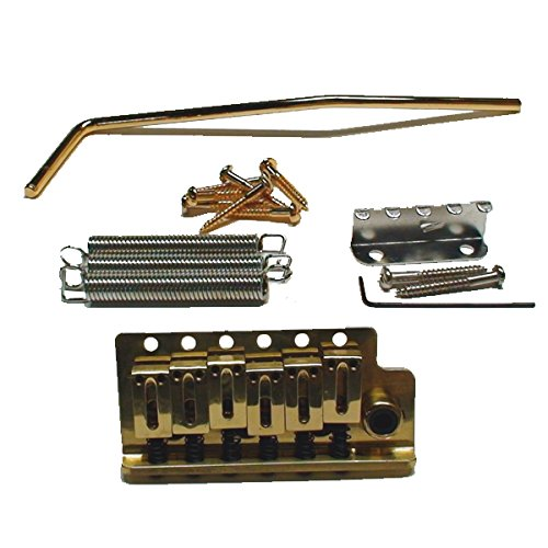 Mighty Mite Electric Guitar Strat Style Vintage Tremolo Assembly Gold MM1131G