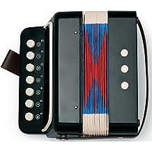 Mini Kids Accordion 7-Key 3 Bass Small Educational Childrens Instrument Band Toy