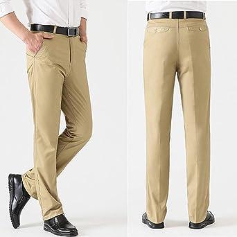 HaiDean Herren Chino Hose Straight Gerader Business Mehrfarbig Leg Modern Casual Regular Fit Stretch Hose Freizeithose Chinohose