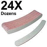 Curved Files Zebra 240/240 (24 Dozens) W