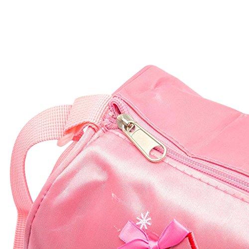 Bolsa Diseno Danza Dogeek Mochila rosado Los Zapatos Pequenos Ballet Ninos Messager Nina De wX66IxOqd