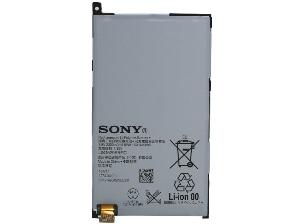 Sony Compact Battery For Xperia Z1 Electronics Baterai Mini