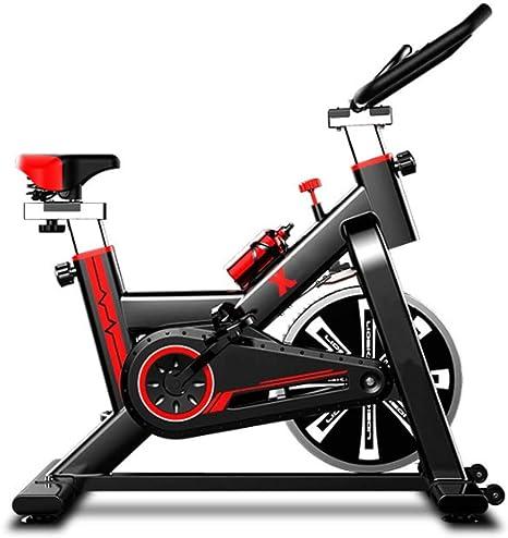 COUYY Ejercicio Bicicleta de Spinning Cubierta casa en Bicicleta ...
