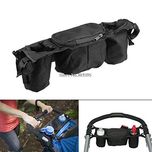 bag Baby Stroller Organizer Baby Carriage Pram Buggy Cart Bottle Bags Stroller Accessories Baby Car Bag ()