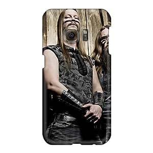 Samsung Galaxy S6 Axn5559Aslm Unique Design Beautiful Ensiferum Band Skin Durable Hard Phone Covers -NataliaKrause