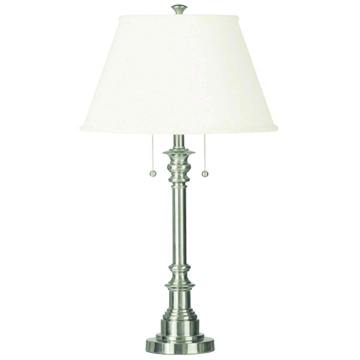 Kenroy Home 30437BS Spyglass Table Lamp Brushed Steel