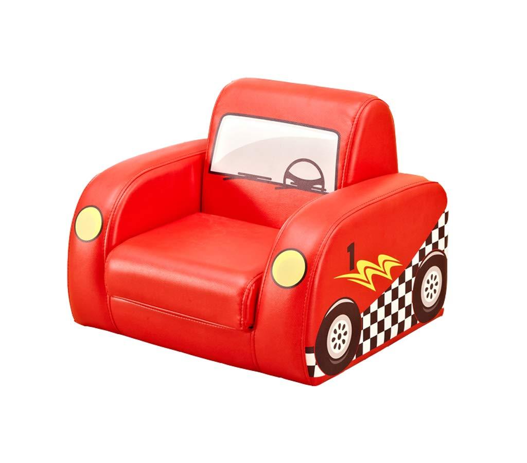 Mr.Zhang's Art Home Taburete Sofá Infantil de Dibujos Animados sofá de jardín de Infantes sofá bebé Silla de Dibujos Animados Robot de Coche