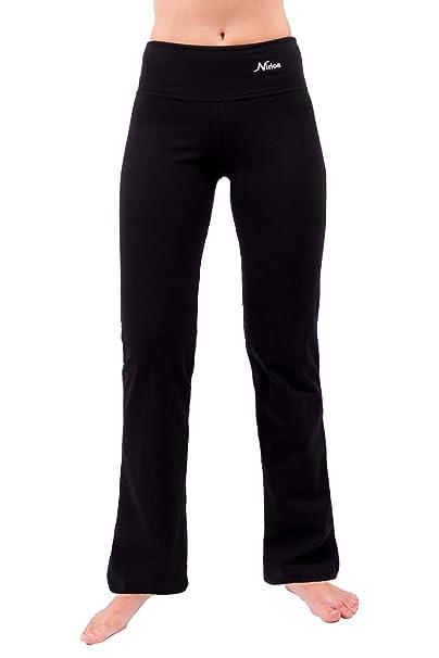 Yoga Pants for Women Bootleg Best Athletic Workout Yoga Leggings Flare Leg  28 quot  30 quot 278d522f45