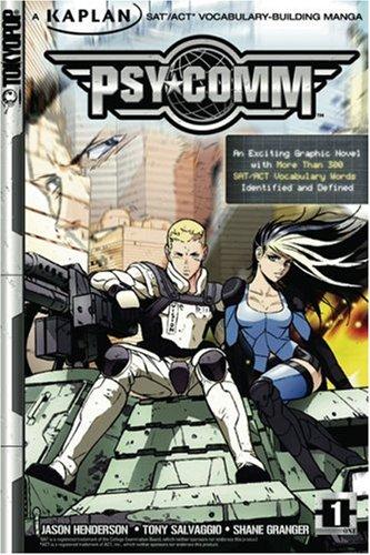 Psy-Comm, Volume 1: Kaplan SAT/ACT Vocabulary-Building Manga (v. 1) (Kaplan Vocabulary Building)