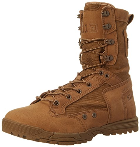 5.11 Tactical Skyweight Waterproof Side Zip Boot,Dark Coyote,10 D(M) US (Professional Leather Waterproof Boot Tactical)