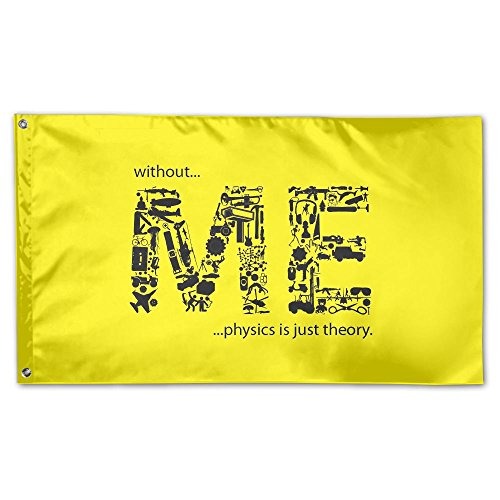 Garden Flag Me Letters Design Outdoor Yard Home Flag Wall Lawn Banner Polyester Flag Decoration 3' x 5' -