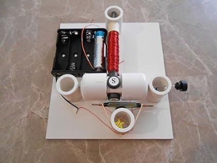 Amazon com: Original Simple Electric Reed Switch Motor Kit #4 - DIY