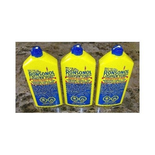 037900990636 - LOT of 3 Bottles Ronsonol 12 Oz Best Lighter Fluid These Are the Jumbo Bottles! by BUTANE & LIGHTER FLUID carousel main 2