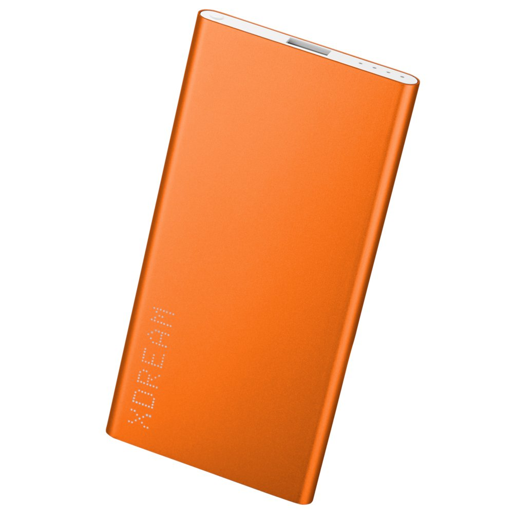 XDREAM X-POWER XL 5400 Mah Ultra Slim Aluminium Power Bank, Charger, Universal External Powered Backup, Porable Battery Pack, Backup, Travel Cell Phone Charger with Smarttech for Iphone 6,iphone 6 Plus, Iphone 5, Ipads, Ipad Air, Samsung Smart Phones, Gal
