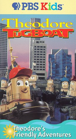 Theodore Tugboat - Theodore's Friendly Adventures [VHS]