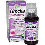Umcka Elderberry Intensive Cold+Flu Syrup - 4 oz (120 ml) by Nature's Way