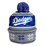 Los Angeles Dodgers Official MLB Team Beanie Stocking Stretch Knit Sock Hat by Forever Collectibles 679295