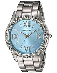 Ellen Tracy Women's ET5190SLLB Blue Dial Classic Ladies Watch