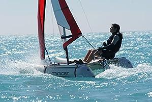 minicatamaran 310 deporte luz peso hinchable vela catamarán ...
