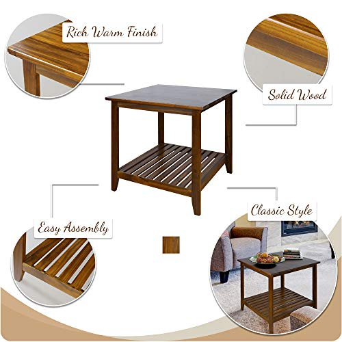 home & kitchen, furniture, living room furniture, tables,  end tables  image, Casual Home 609-15 Medan End Table deals5