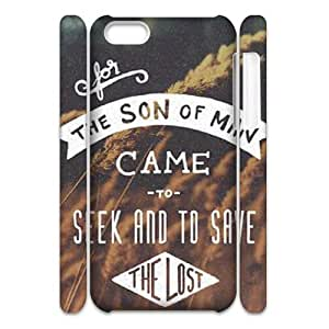 Quotes DIY 3D Cover Case for Iphone 5C,personalized phone case ygtg530108