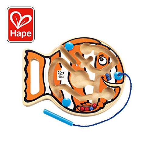 Hape Go-Fish-Go Magnetic Wooden Toddler Maze Puzzle