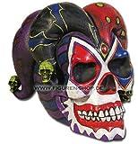 6.50 Inch Resin Jester Skull Savings Piggy/Coin/Money Bank
