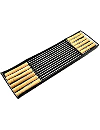 CheckOut 12PCS BBQ Barbeque Skewers 41cm Needle Utensil Stainless steel Outdoor High Quality dispense