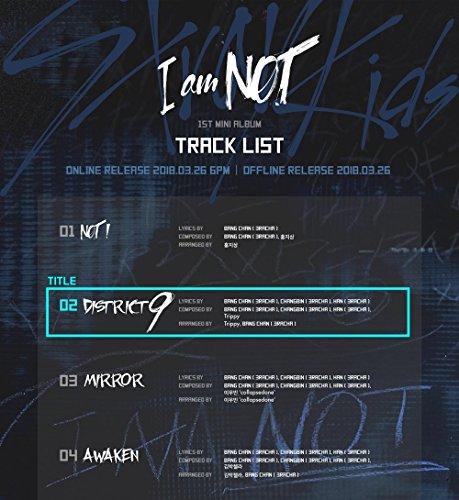 JYP Entertainment Stray Kids - I am NOT [I AM + NOT ver. Set] (1st Mini Album) 2CD+Photobook+3Photocards by JYP Entertainment (Image #5)