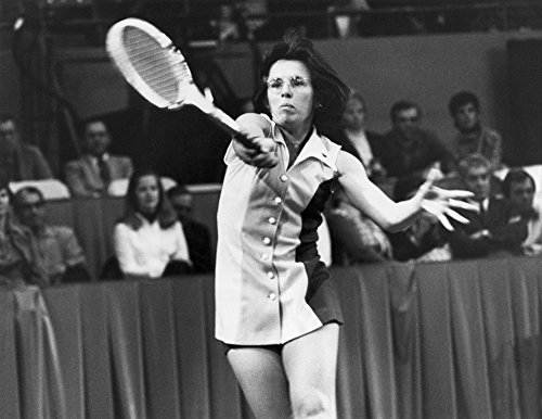 Billie Jean King (1943- ) Namerican Tennis Player Photographed During The Spalding International Mixed Doubles Tennis Championship In Dallas Texas 6 January 1974 Poster Print by (18 x 24) ()