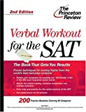 Verbal Workout for the SAT, Princeton Review Staff and Geoff Martz, 0375761764