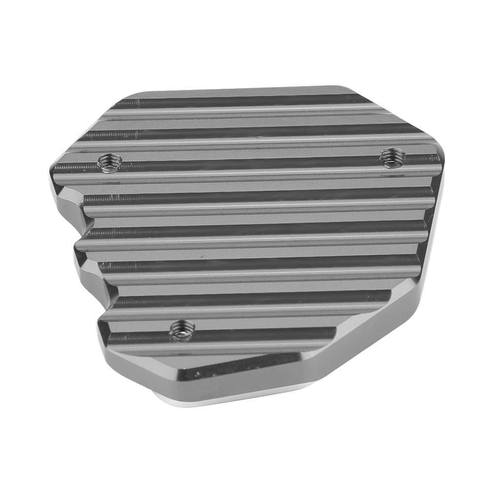 patin dextension de plaque de b/équille de support CNC pour moto Agrandir pour 790 2018-2019 Patin de support lat/éral Noir