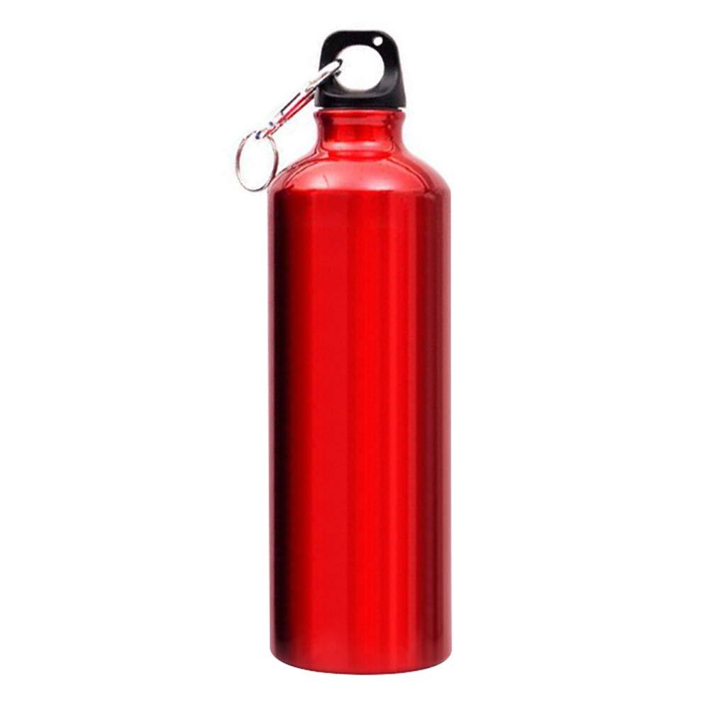 750 ml Vaso de Agua Taza de Agua de estanqueidad Cantimplora port/átil de aleaci/ón de Aluminio BeiYuSdBb para Deportes al Aire Libre
