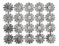 Walter Kunze Design 20-Piece Dresden Miniature Suns, Silver