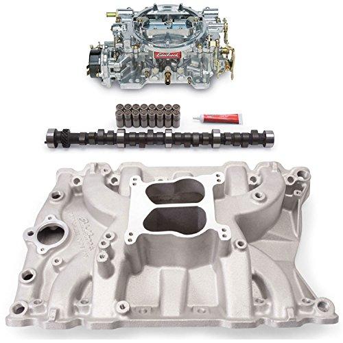 Edelbrock 2151PK Performer Power Package; Intake Manifold, Carburetor and Cams
