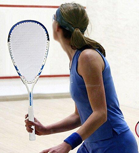 Élasticité élevée Durabilité Squash Racket meilleurs Squash Rackets l'un, bleu
