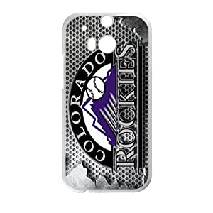 colorado rockies Phone Case for HTC One M8