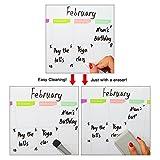 Dry Erase Calendar by Nardo Visgo Monthly