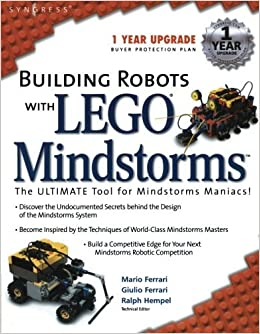 Book Building Robots With Lego Mindstorms : The Ultimate Tool for Mindstorms Maniacs by Mario Ferrari (2001-12-15)
