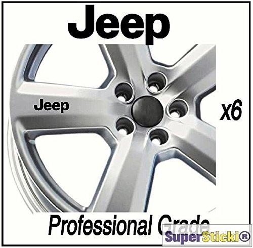 Jeep Sponsor Aufkleber Felgenaufkleber 6 Teilig Tuning